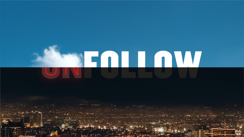 Follow / Unfollow