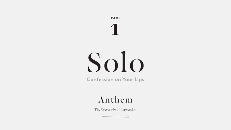 Solo – Confession on Your Lips
