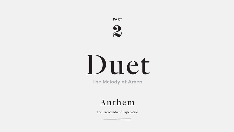 Duet – The Melody of Amen