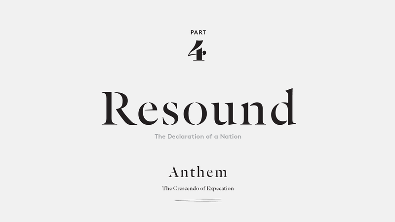 Resound – The Declaration of a Nation