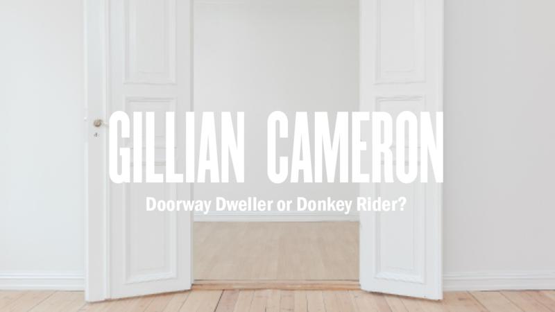 Doorway Dweller or Donkey Rider?