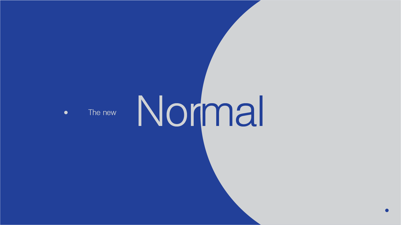 The New Normal – Part 1